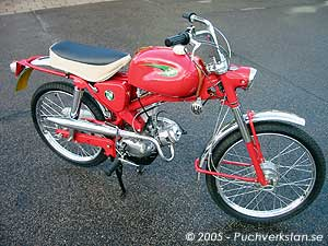 Puch Moto-cross, MC 50 KF - 1965