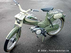 Puch California, VS 50 KF - 1962