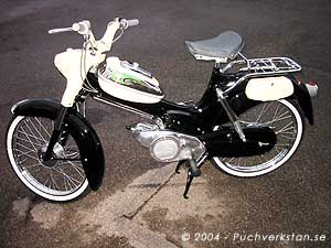 Puch Lyx, VS 50 L - 1960