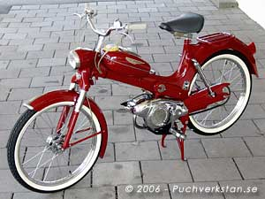 Puch MS 50 L - 1957