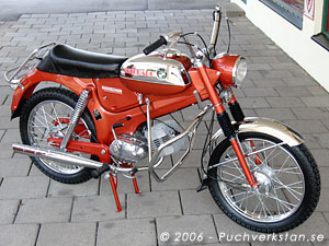 Puch Colorado, VZ 50/3 - 1973