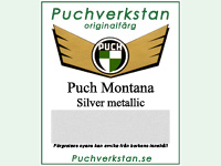 Lack. Puch Montana silver