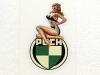 PUCH dekal PINUP nr 3