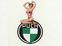 PUCH stickers PINUP nr1