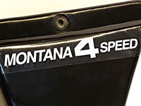 Sidodekal MONTANA 4 SPEED