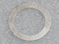 Shims 0,1 mm Bla. Kickaxel 14x20x0,1