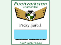 Puch Packy BLÅ Sprayburk 400ml